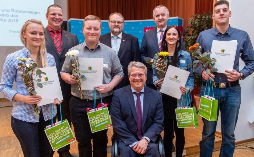 Sachsens Handwerker ehren die Berufsnachwuchs-Elite des Jahrgangs 2018 in Dresden (8. Februar 2019)