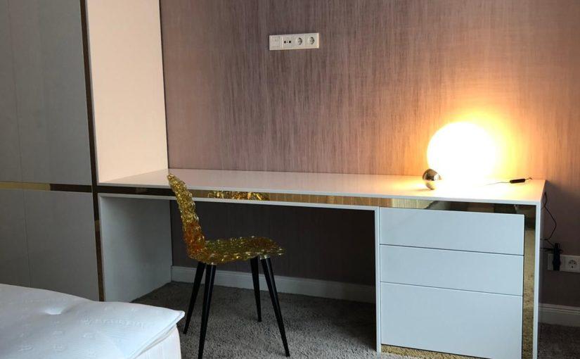 Lob für Möbel-Maßanfertigung in luxeriösem Appartment-Tower in der Mitte von Berlin