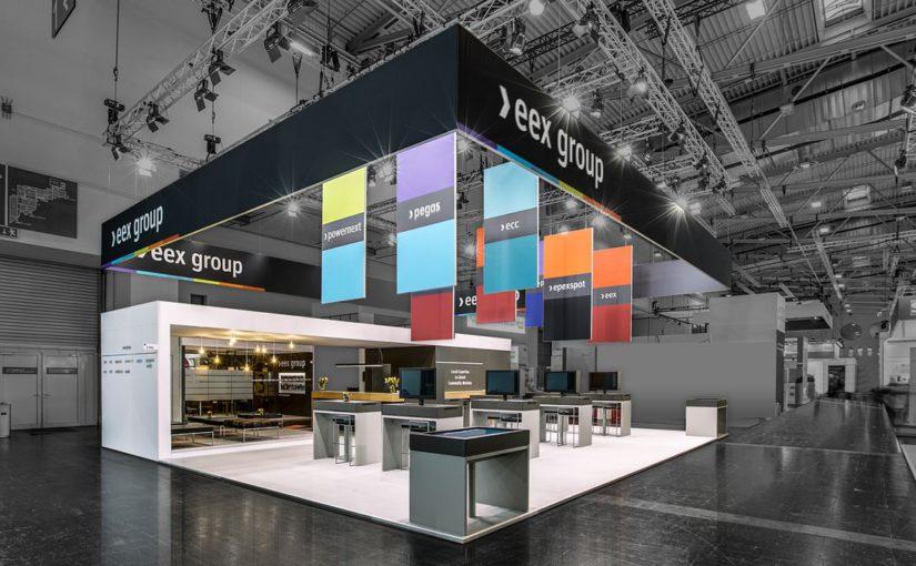 Neues CD der EEX Group wirkungsvoll in Szene gesetzt