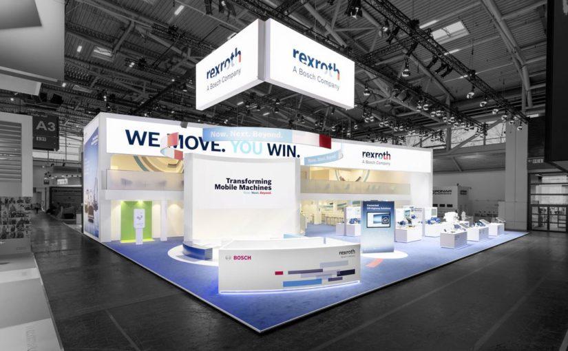 Bosch Rexroth AG  – bauma, München 2016 & 2019