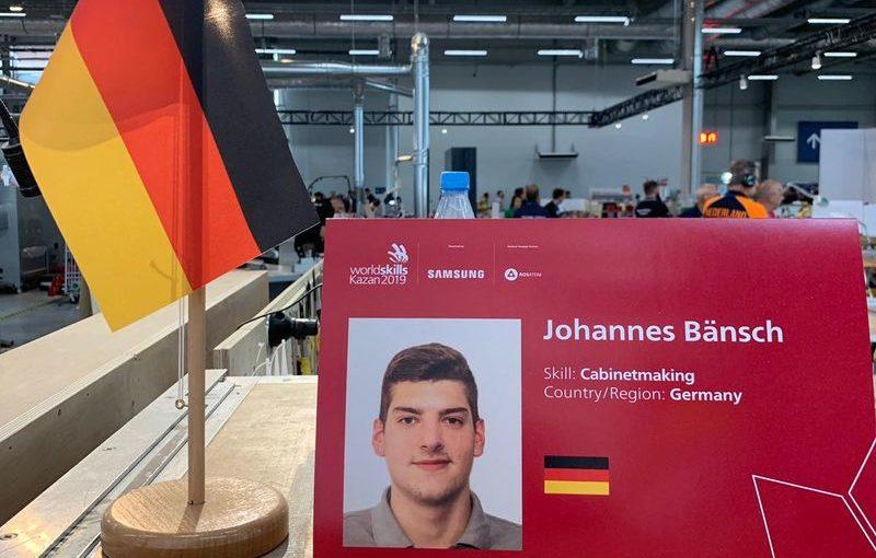 Johannes Bänsch am 4. Wettkampftag: WM-Kampf geht in die letzte Runde