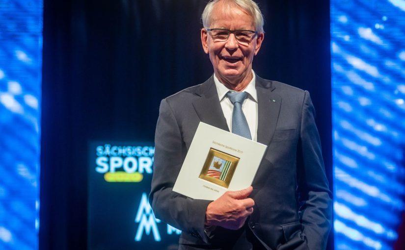 """Sportförderpreis """"Sächsische Sportkrone 2019"""" für mp- und INUMA-Gründer Hartmut Bunsen"""