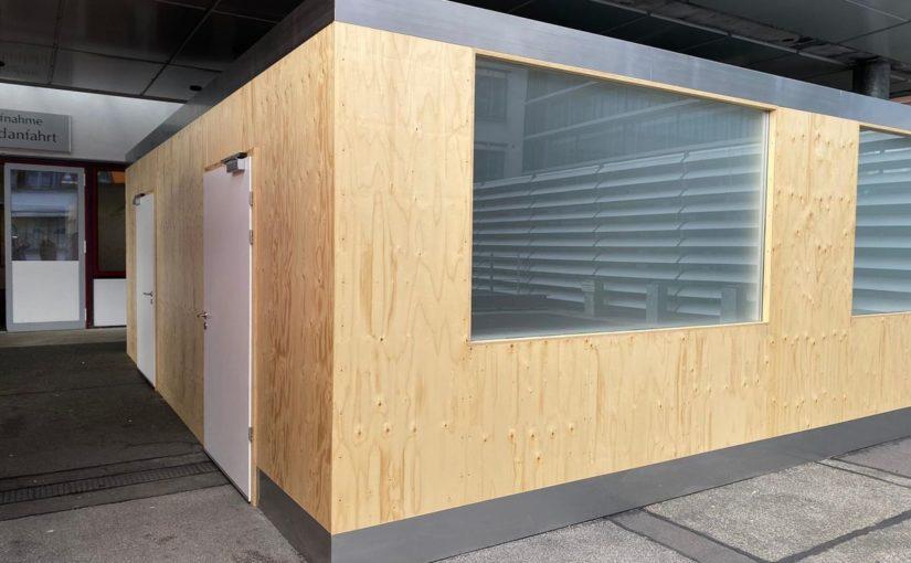 Triagebox am Universitätsklinikum Halle erfolgreich übergeben