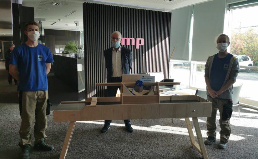 mp- und INUMA-Firmengründer Hartmut Bunsen feiert 80. Geburtstag