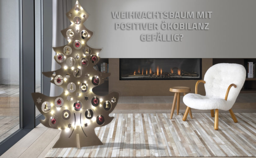 Jetzt umsteigen – auf unseren nachhaltigen Weihnachtsbaum!