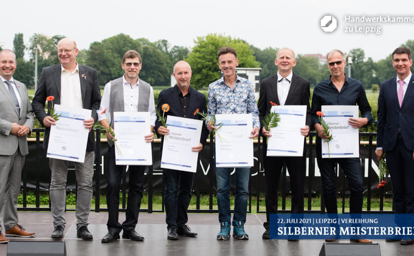 Silberner Meisterbrief – Ehrung für INUMA-Lehrmeister Heiko Kiesling